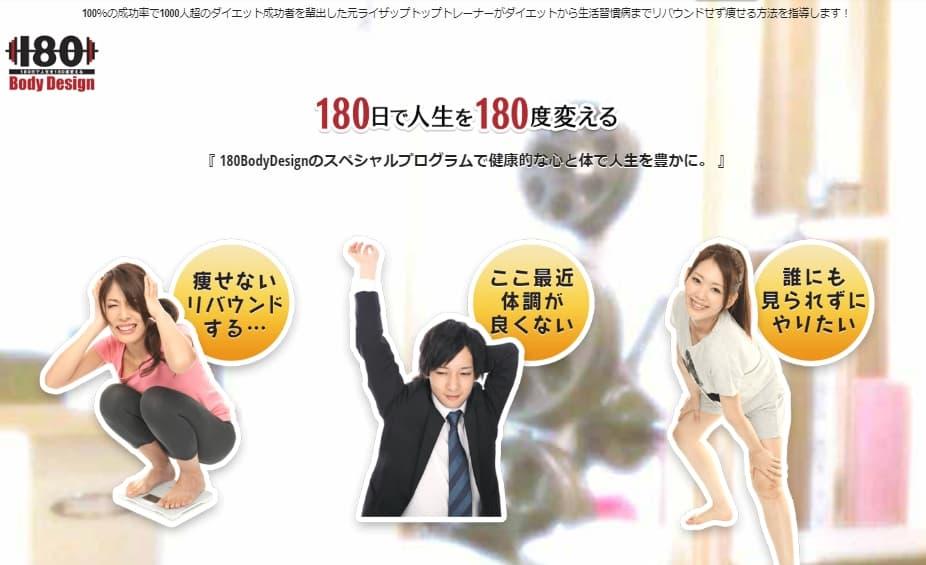 180BodyDesign|横浜駅周辺のパーソナルトレーニングジム