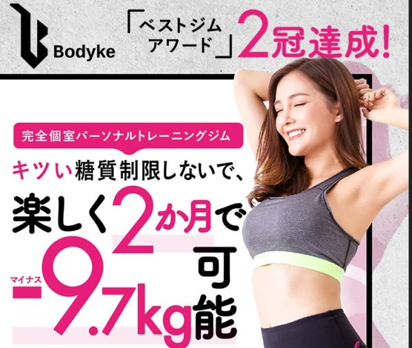 Bodyke(ボディーク)口コミや評判
