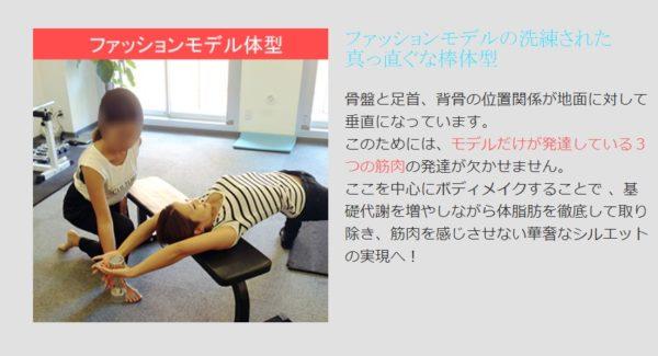 【チャームボディ】CharmBodyのトレーニング