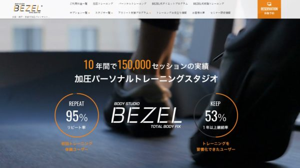 BEZEL(ベゼル)の口コミや評判を徹底調査!料金やトレーニング内容まとめ