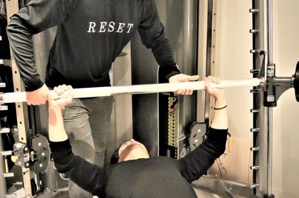 RESETのトレーニングメニュー